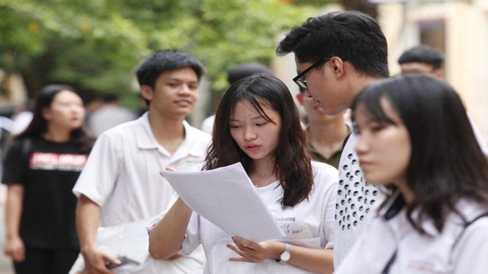Học sinh dựa vào đề minh họa 2019 để ôn tập thi THPT quốc gia